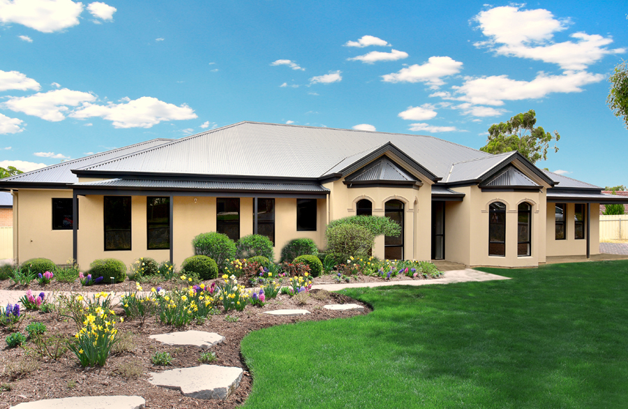 Custom homes oakford homes for Custom single story homes